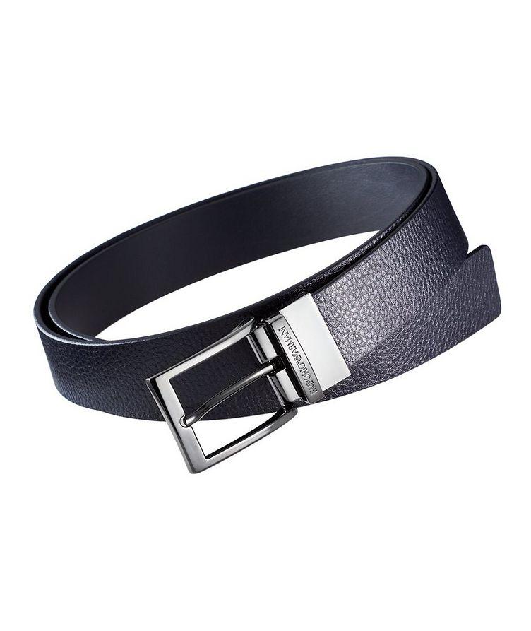 Tumbled Leather Belt image 0