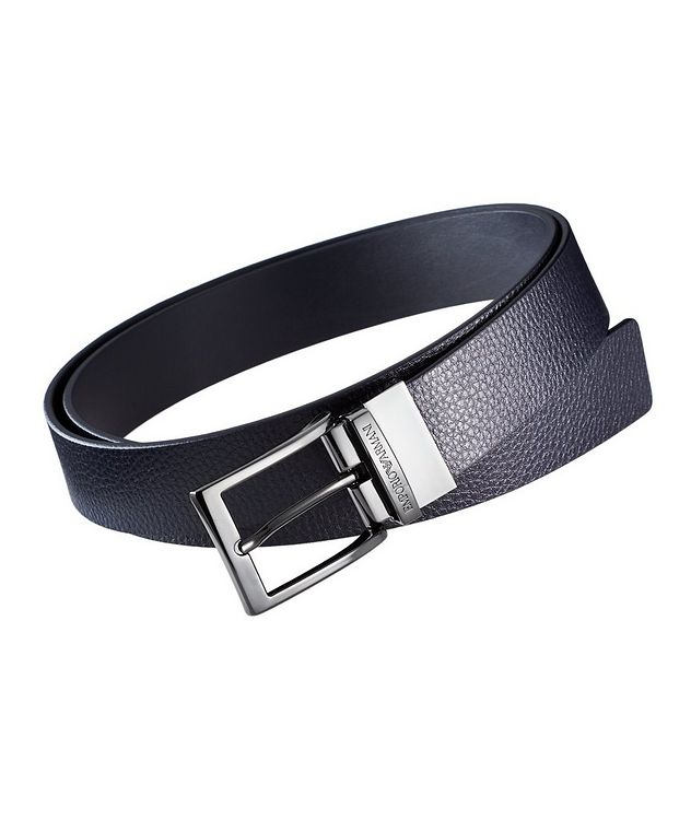 Tumbled Leather Belt picture 1