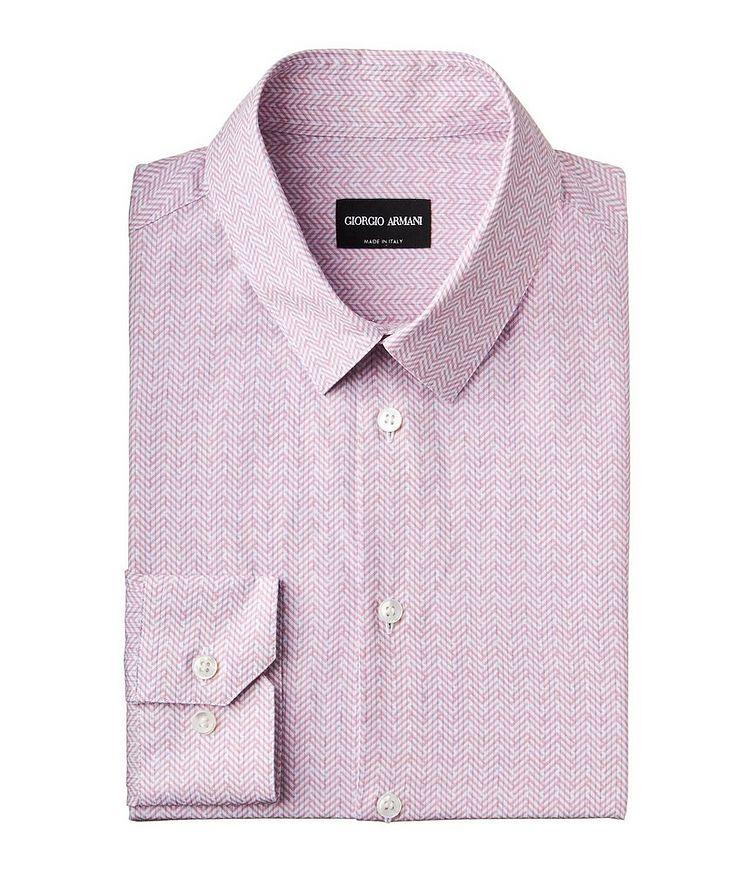 Chemise habillée en coton et lin image 0
