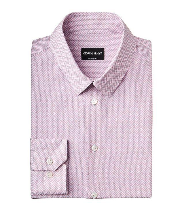 Chemise habillée en coton et lin picture 1