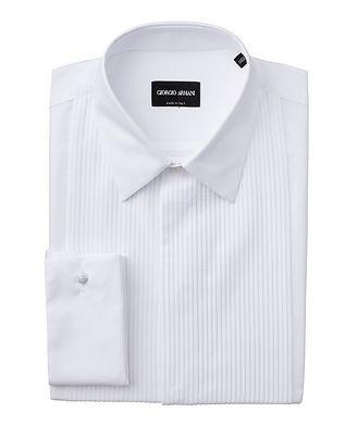 Giorgio Armani Pleated Front Tuxedo Shirt