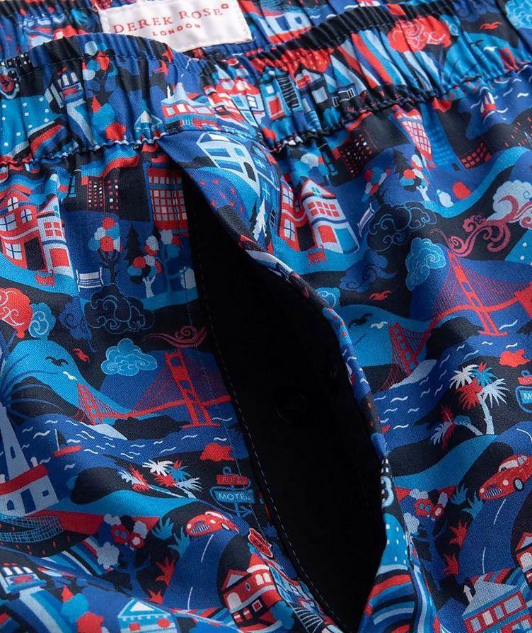 Boxeur imprimé en coton image 2