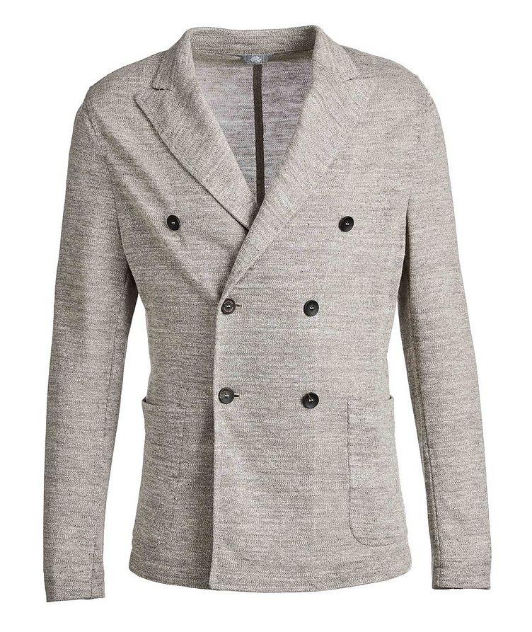 Linen-Blend Sports Jacket image 0