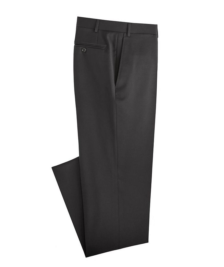 Slim Fit Wool Dress Pants image 0