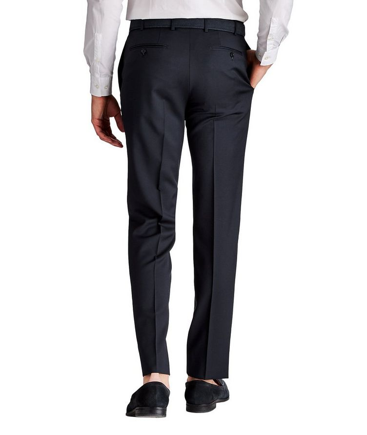 Pantalon habillé en laine de coupe amincie image 1