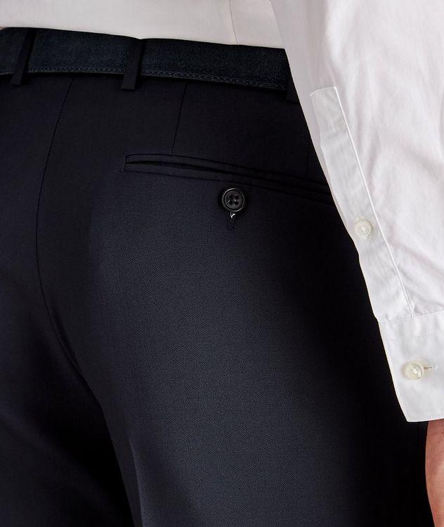 Pantalon habillé en laine de coupe amincie picture 3