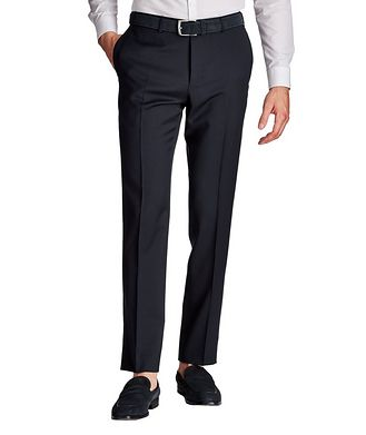 Canali Slim Fit Wool Dress Pants