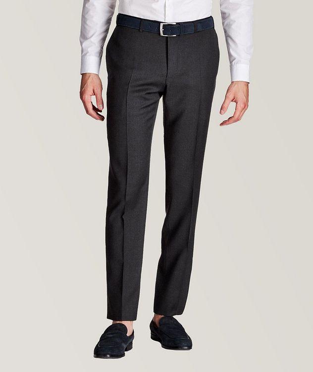 Slim Fit Wool Dress Pants picture 1