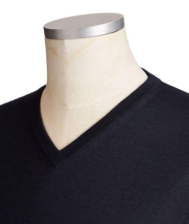V-Neck Cashmere-Silk Sweater picture 2