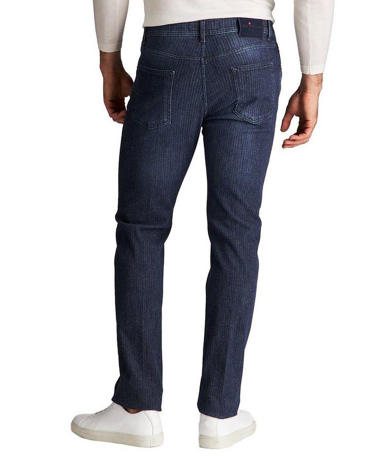 Slim Fit Chalk Striped Jeans image 1