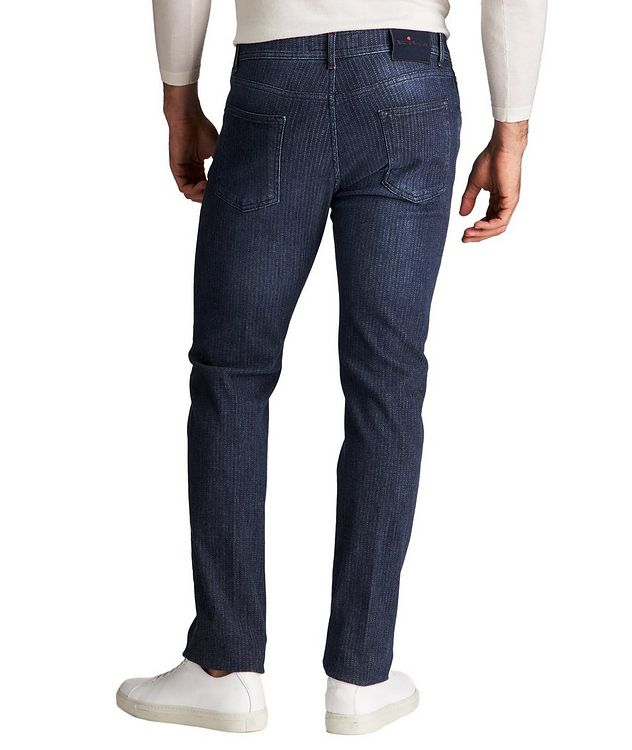 Slim Fit Chalk Striped Jeans picture 2