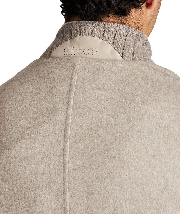 Cashmere Bomber Jacket picture 5