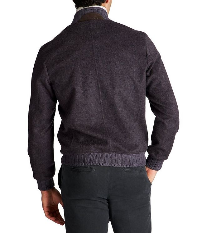 Cashmere Bomber Jacket picture 2