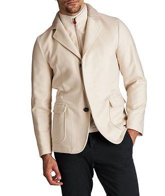 Kiton Cashmere Car Coat