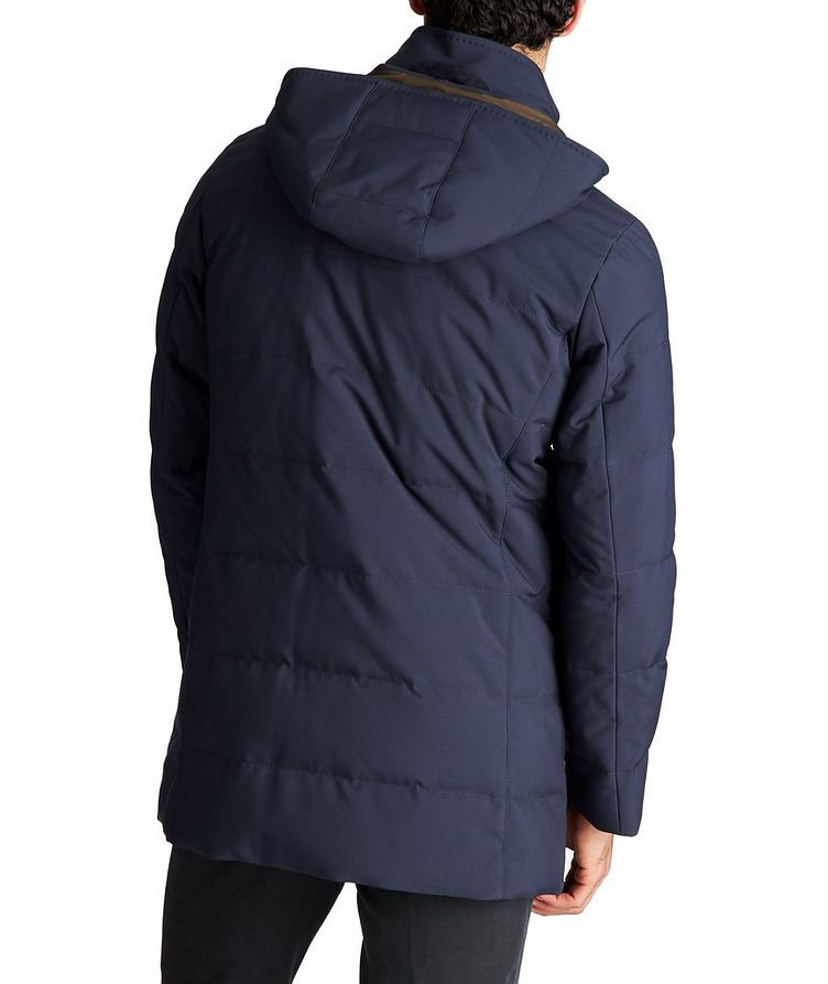 Hooded Down Puffer Jacket image 1