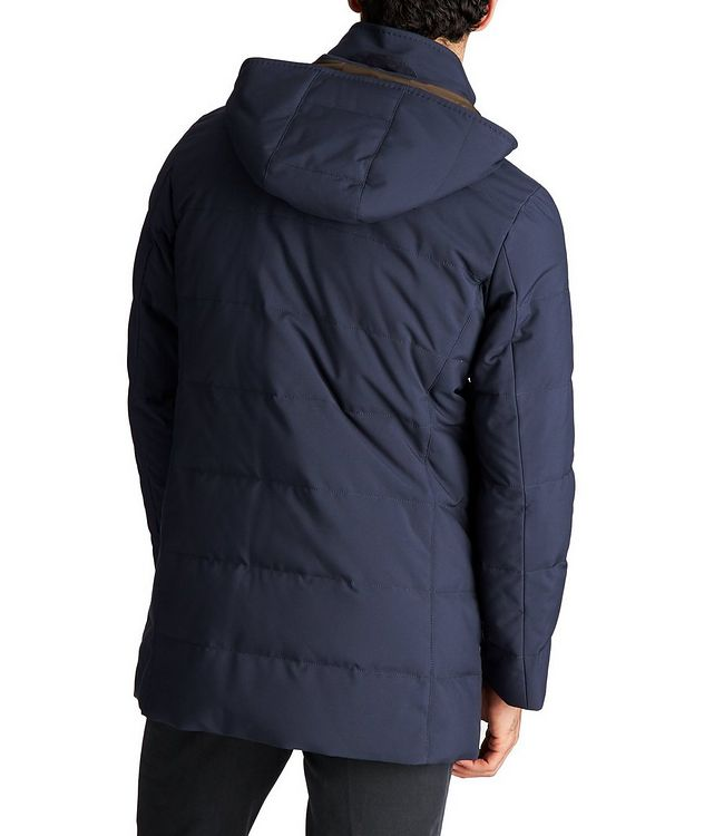 Hooded Down Puffer Jacket picture 2
