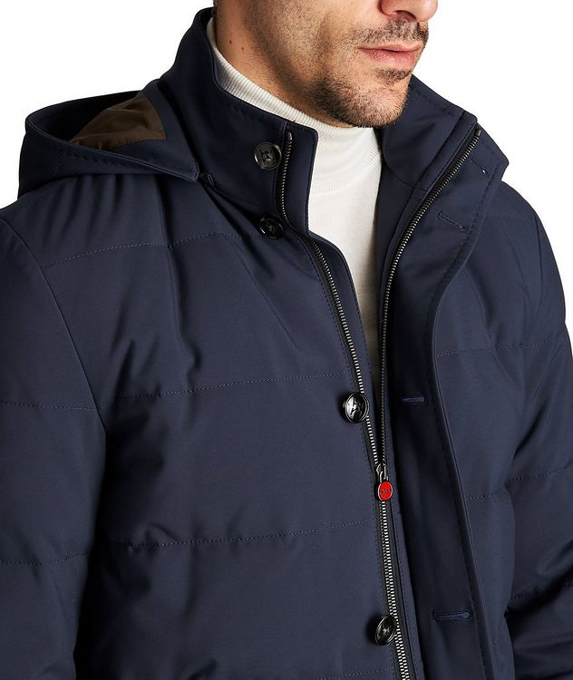 Hooded Down Puffer Jacket picture 3