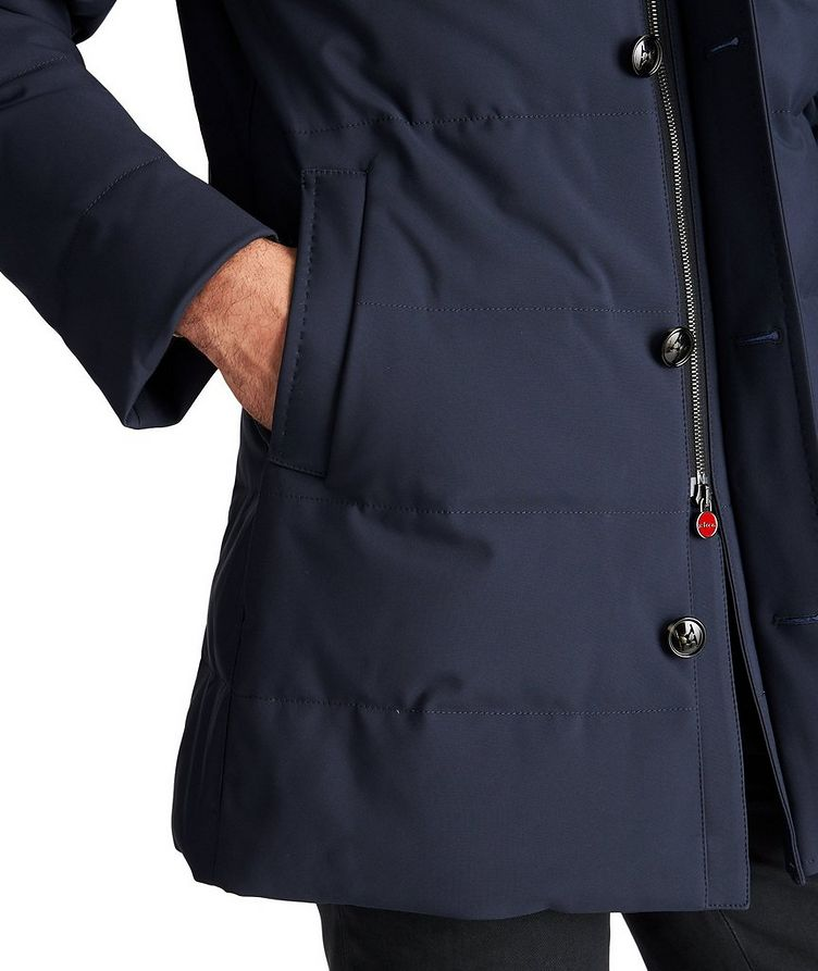 Hooded Down Puffer Jacket image 3