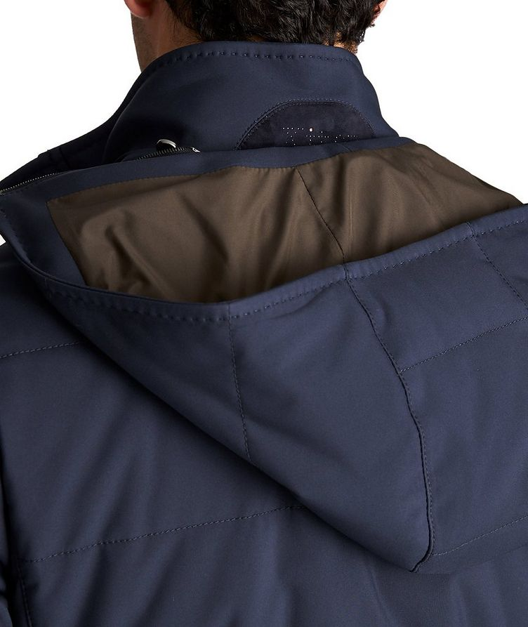 Hooded Down Puffer Jacket image 4