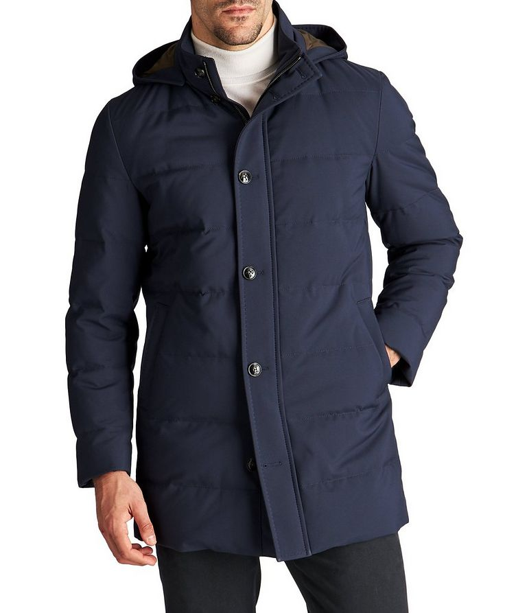 Hooded Down Puffer Jacket image 0