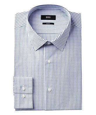 BOSS Slim Fit Checked Dress Shirt
