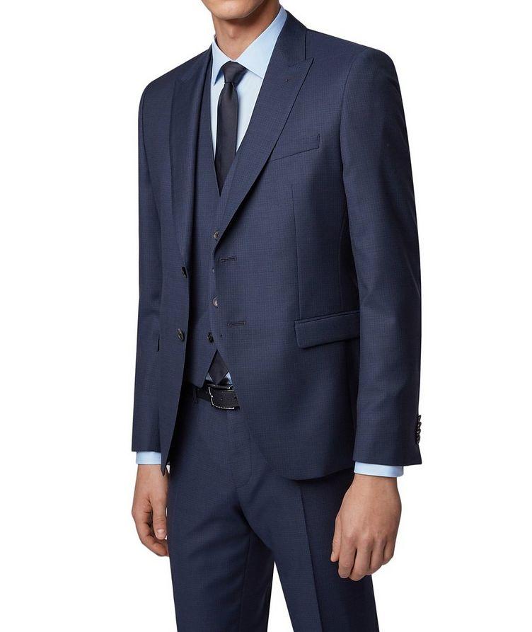 Rusten/Wenten Micro-Checked Virgin Wool Suit image 1