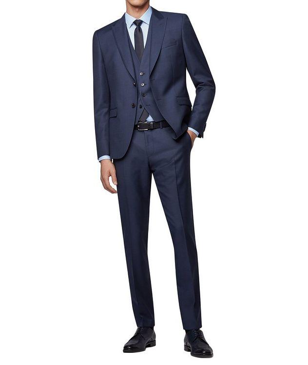 Rusten/Wenten Micro-Checked Virgin Wool Suit picture 4