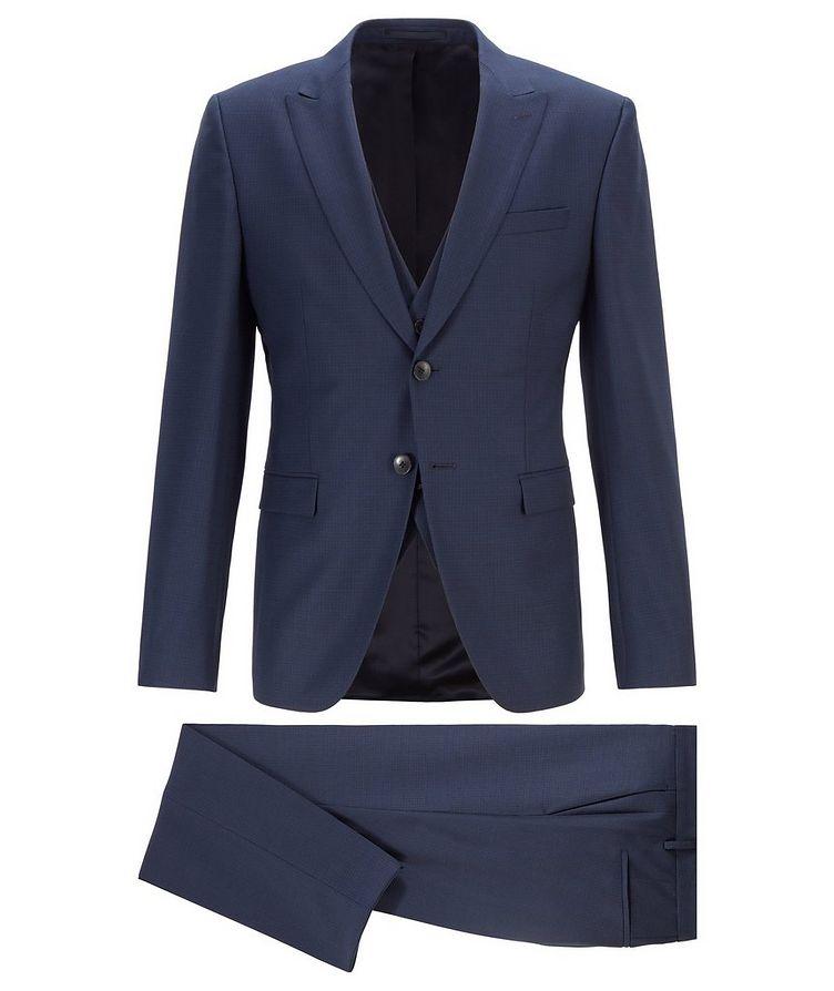 Rusten/Wenten Micro-Checked Virgin Wool Suit image 0