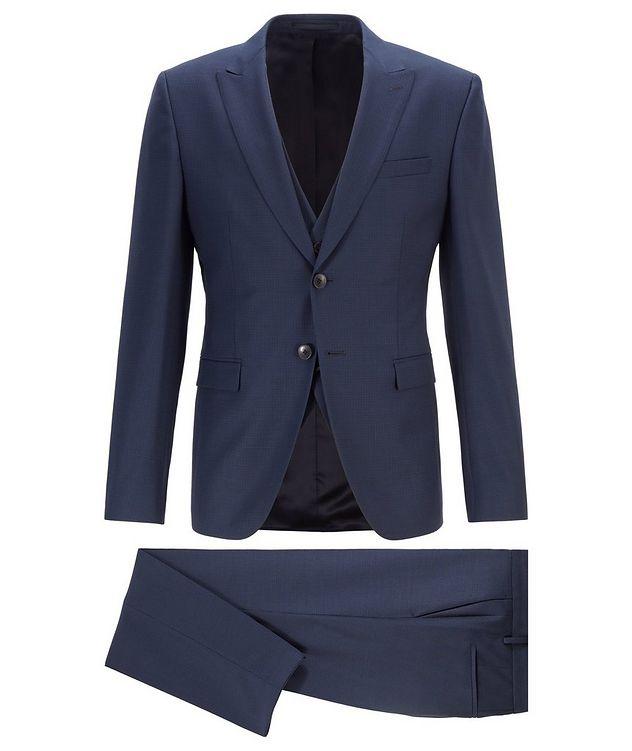 Rusten/Wenten Micro-Checked Virgin Wool Suit picture 1