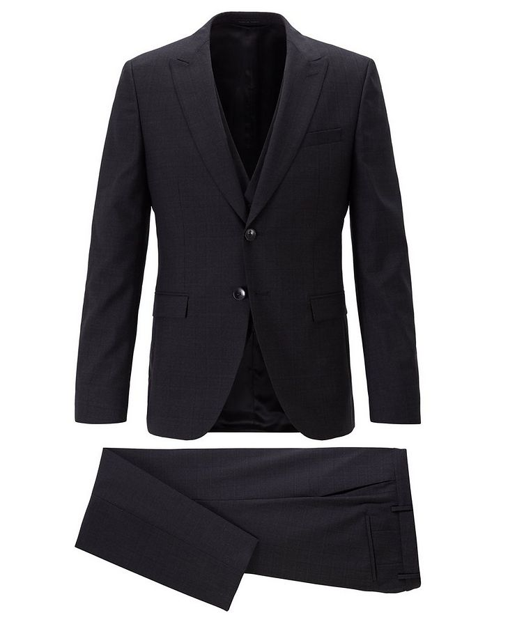 Rusten/Wenten Checked Virgin Wool Suit image 0
