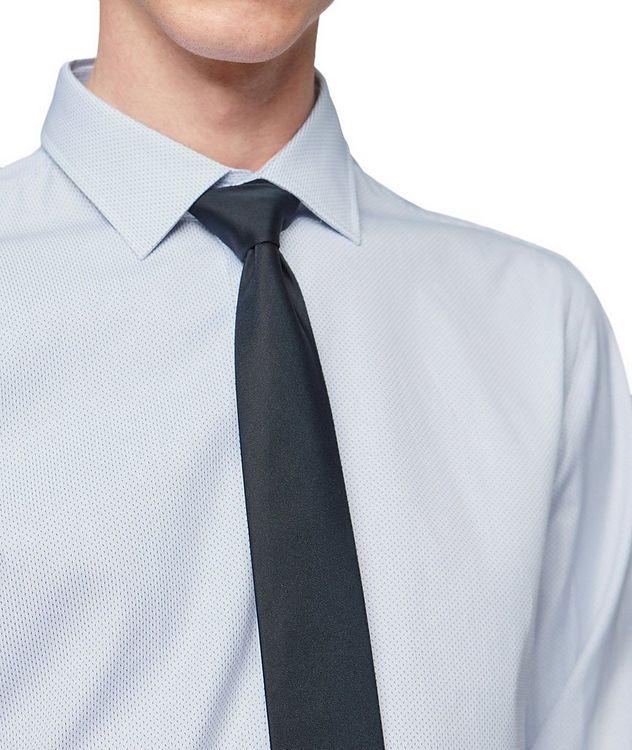 Slim Fit Printed Dress Shirt picture 2