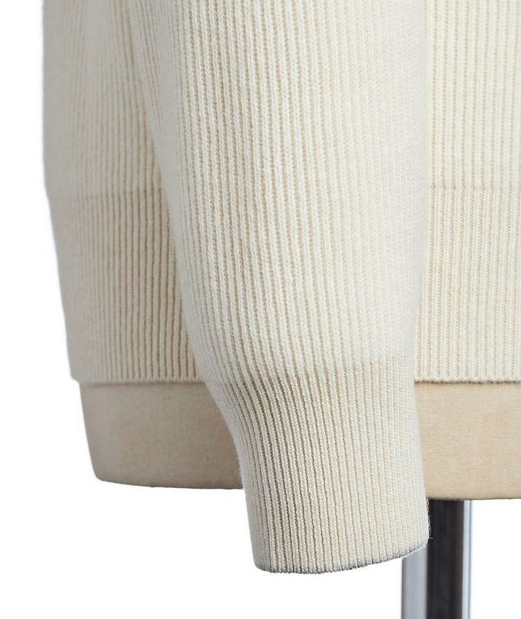 Virgin Wool, Cashmere & Silk Sweater image 2