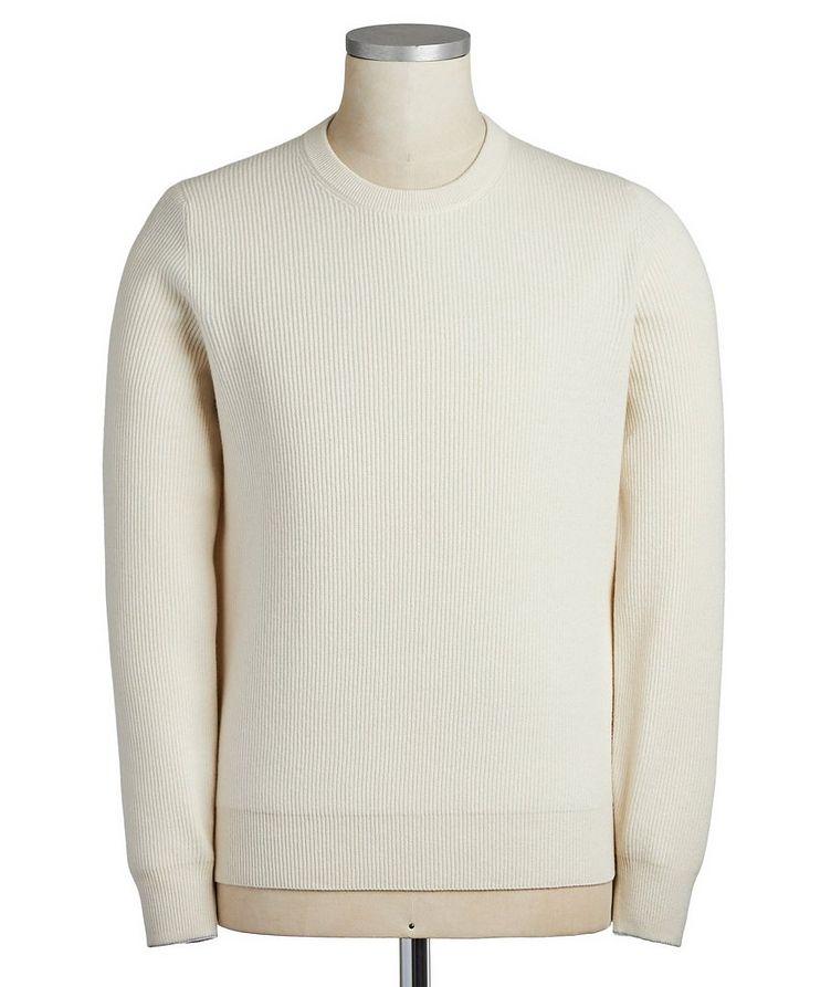 Virgin Wool, Cashmere & Silk Sweater image 0