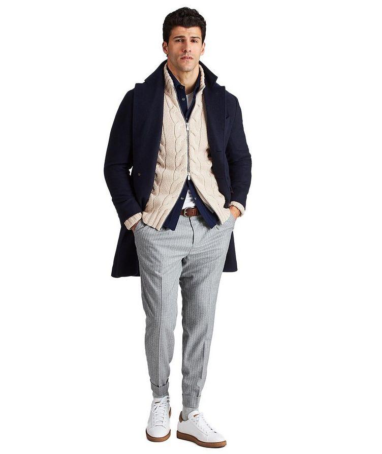 Cardigan en tricot torsadé de cachemire image 2