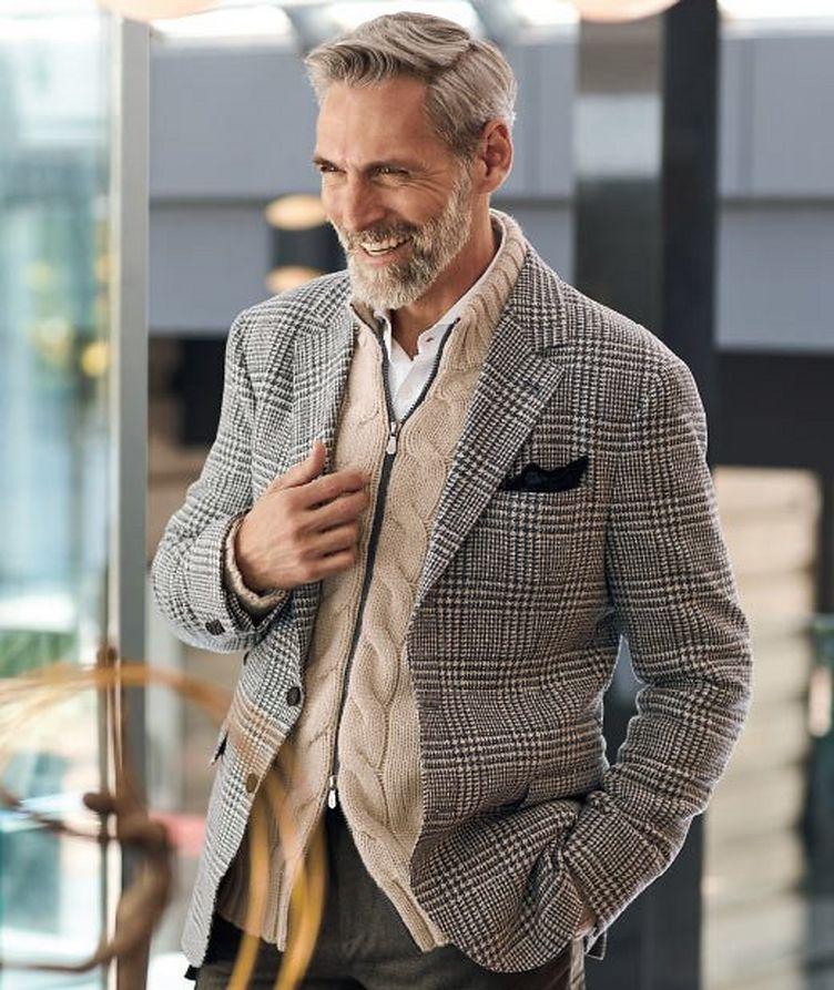 Cardigan en tricot torsadé de cachemire image 3