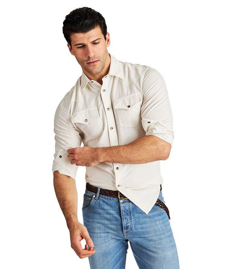 Corduroy Western Shirt image 0