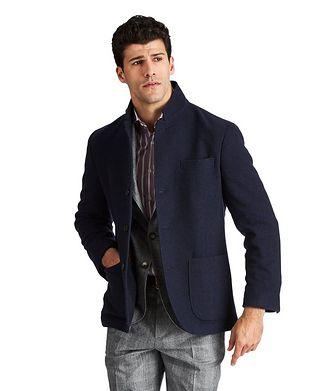 Brunello Cucinelli Water-Repellent Cashmere Coat
