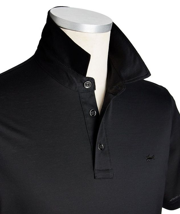 Double Mercerized Organic Cotton Polo picture 2