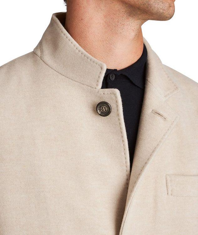Water-Repellent Cashmere Coat picture 3