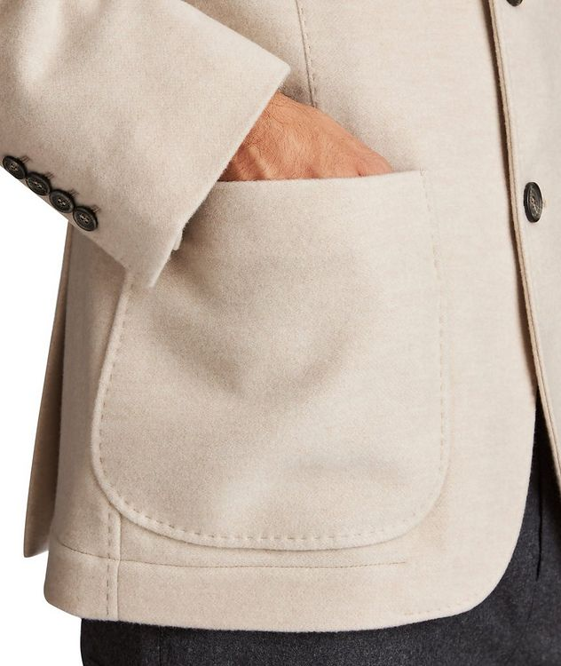 Water-Repellent Cashmere Coat picture 4