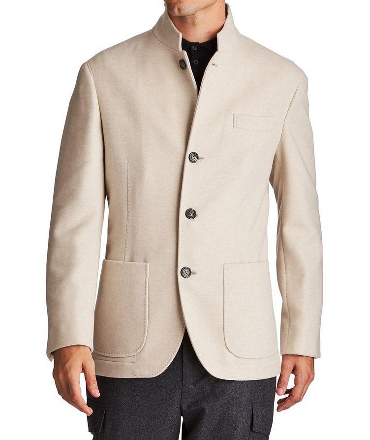 Water-Repellent Cashmere Coat image 0