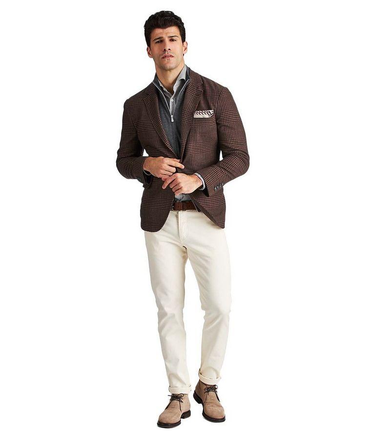 Veston non structuré en laine, lin, cachemire et soie image 2