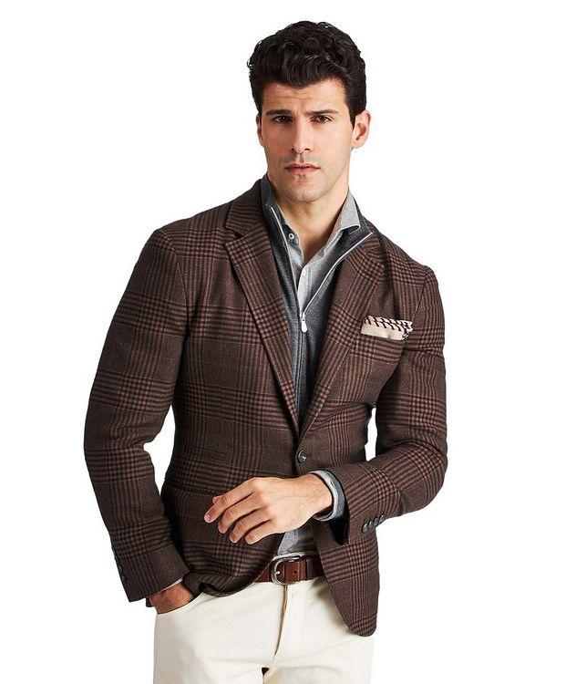 Veston non structuré en laine, lin, cachemire et soie picture 1