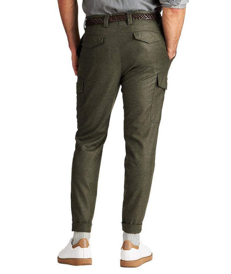 Pantalon à poches cargo de coupe contemporaine image 1