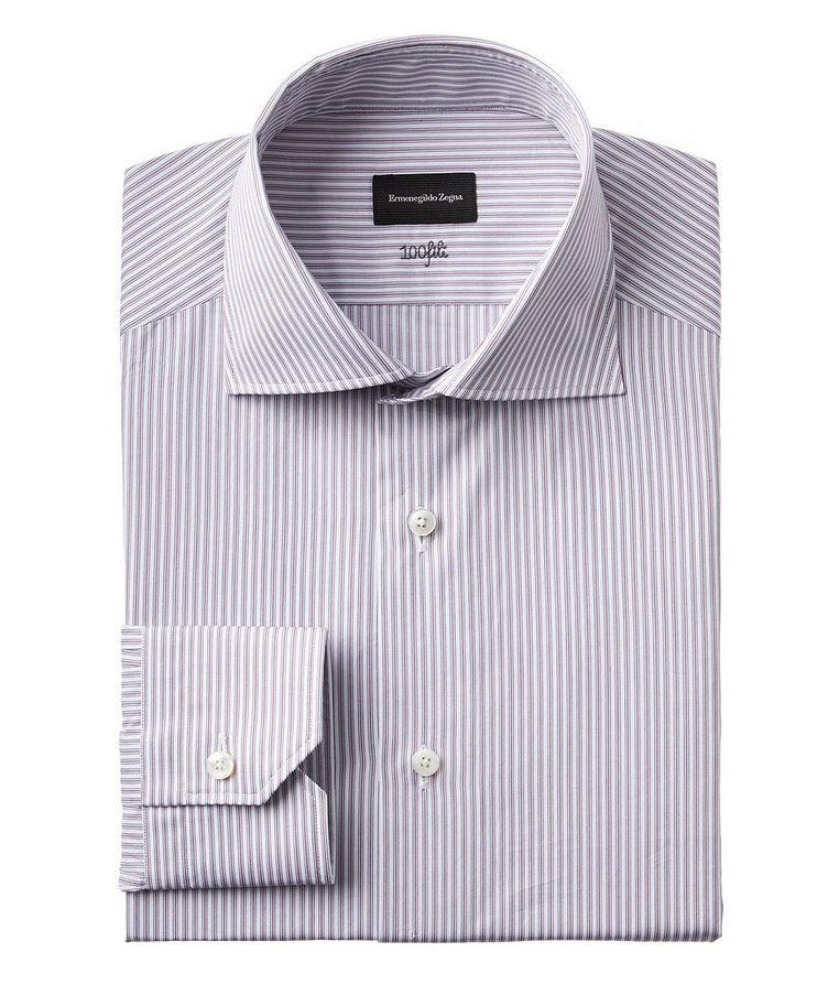 Contemporary Fit Striped 100fili Dress Shirt image 0