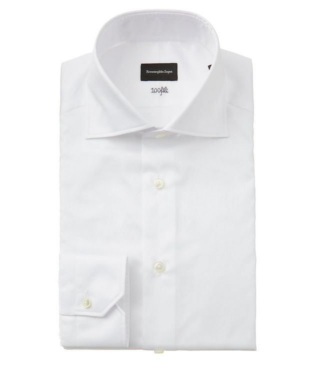 Slim Fit Striped 100fili Dress Shirt picture 1