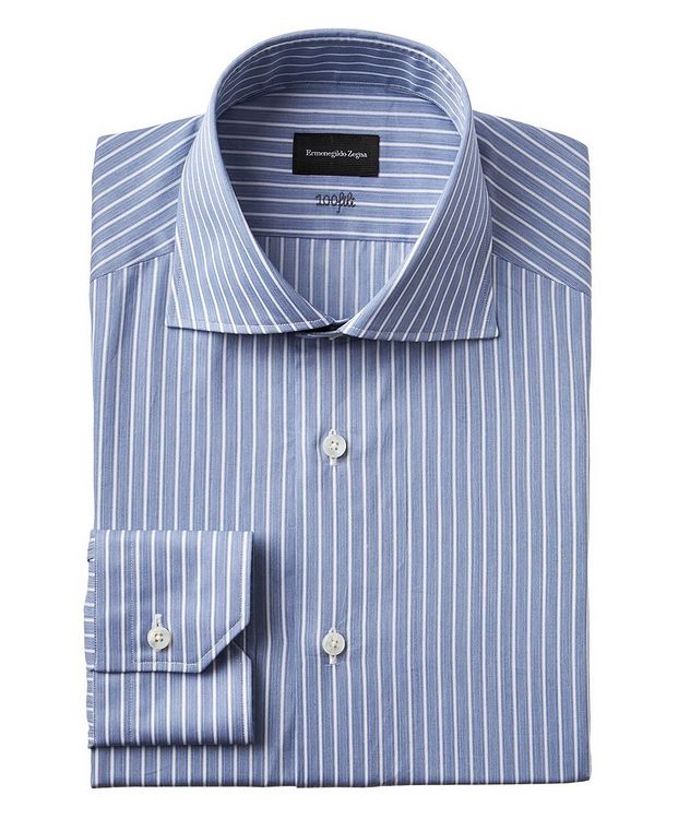 Contemporary Fit Striped 100fili Dress Shirt picture 1
