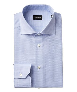 Ermenegildo Zegna Slim Fit Printed Dress Shirt
