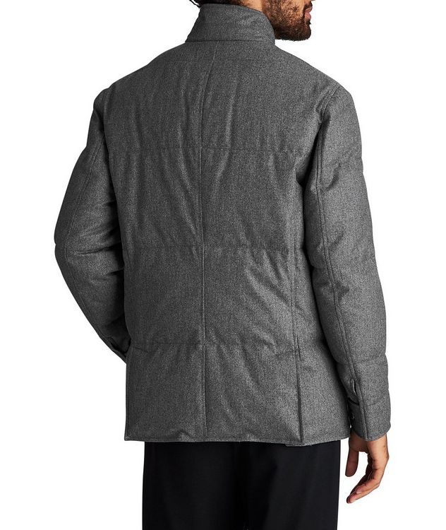 Water-Repellent Wool-Silk-Cashmere Jacket picture 2