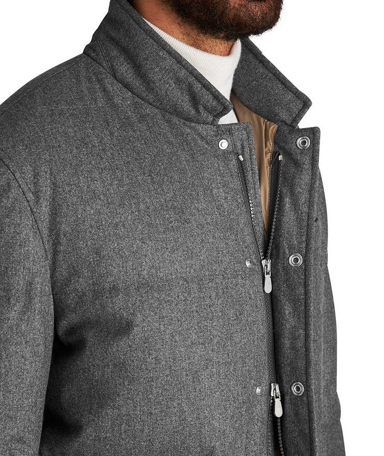 Water-Repellent Wool-Silk-Cashmere Jacket image 2
